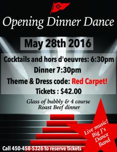 Gala Opening Dinner and Dance